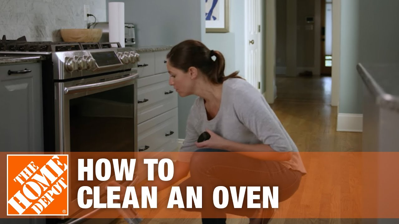 How To Clean An Oven Oven Cleaning Tips Youtube