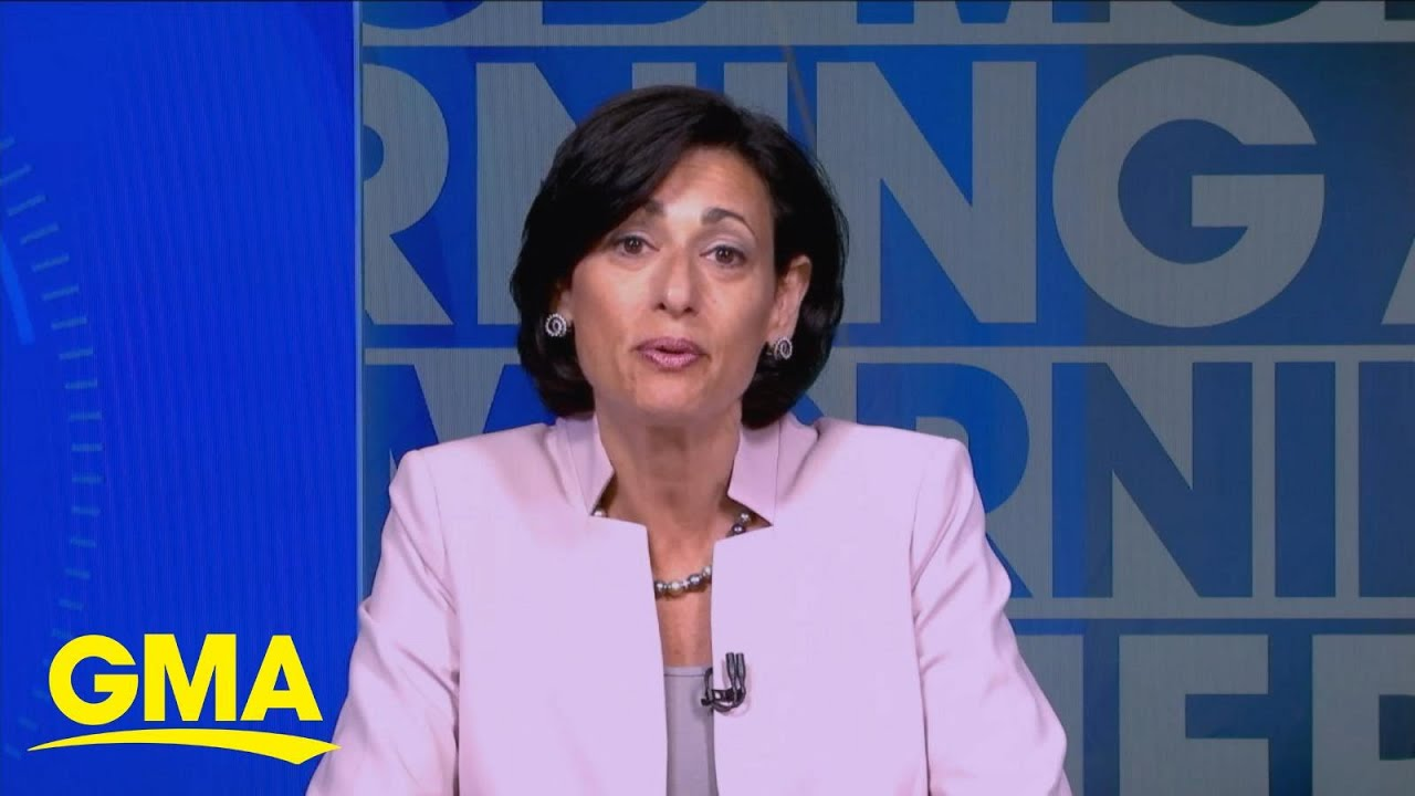 Download CDC director addresses changing mask guidance l GMA