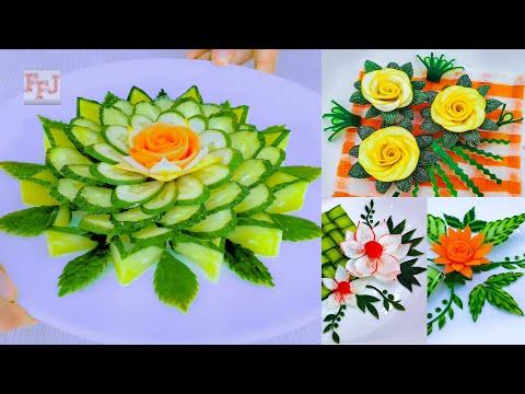 5 Vegetable Arts | Designing & Carving as Beautiful Lifehacks