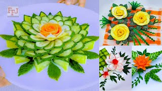 Cover images 5 Vegetable Arts   Designing & Carving as Beautiful Lifehacks