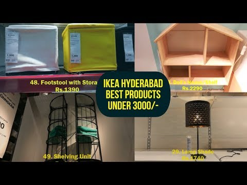 IKEA Hyderabad | Best 55 products Below Rs.3000 | Price Details | Product Descriptions