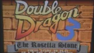Double Dragon 3 The Rosetta Stones AZWC review for the Sega Genesis