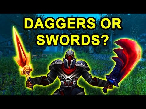 Should You Use Daggers Or Swords As A Rogue In Classic Wow?