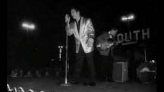 Elvis Presley live in Tupelo Mississippi The footages is from his T...