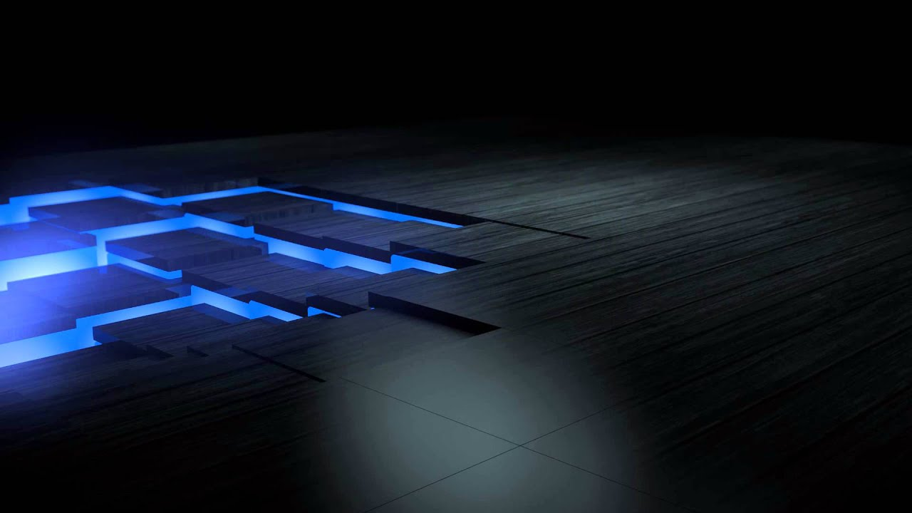 Glowing Floor Tiles (Cinema 4D and After Effects