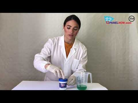 How to use our urine 8 Panel Testing Cup!