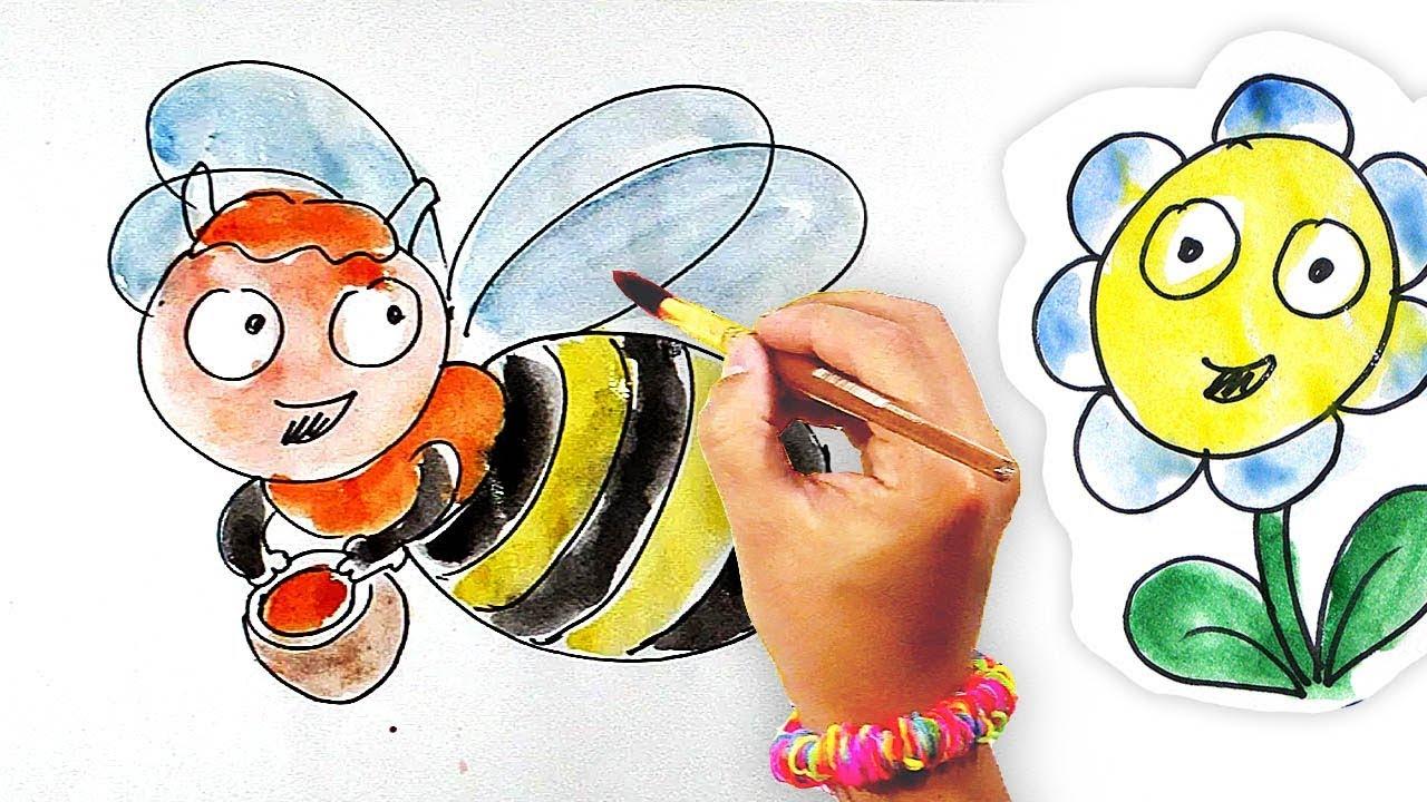 Раскраска для детей / Рисунки Ромашки / Рисуем НАСЕКОМЫХ ...