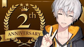 アベレージ2周年記念配信!!!【#Vtuber】