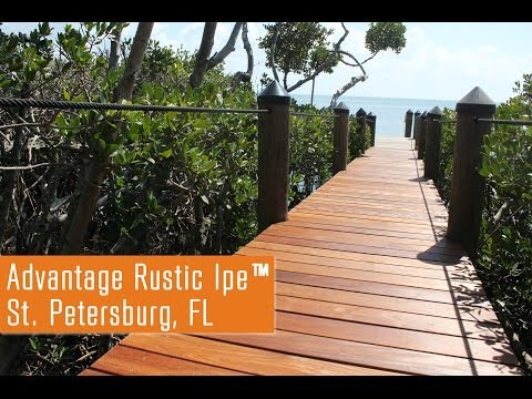 Building A Dock With Character - Rustic Ipe Wood As A Dock Material