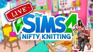 The Sims 4 Stuff Pack Nifty Knitting Live (Τελευταίο της σεζόν) | Missmaddenplays