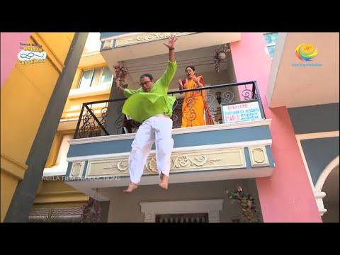 Download Bhide Jumps Off Balcony?! | Taarak Mehta Ka Ooltah Chashmah | TMKOC Comedy | तारक मेहता