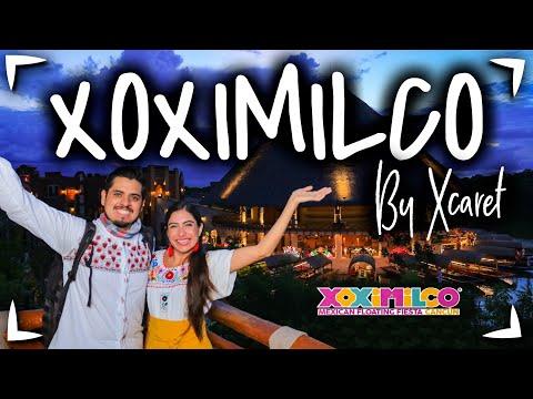 XOXIMILCO Cancun by XCARET 🔴 Tour FIESTA en CANCUN ✅  Que INCLUYE, PRECIO, FOTOS ► Parque Xoximilco