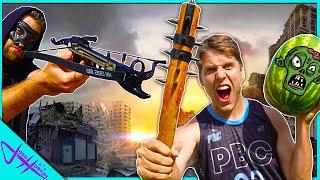 ZOMBIE Weapon TRICK SHOT Challenge! *Apocalypse Training*
