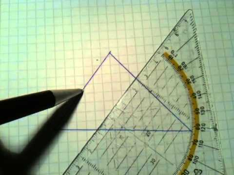 mittelpunkt eines dreiecks berechnen geometrie leicht gemacht youtube. Black Bedroom Furniture Sets. Home Design Ideas