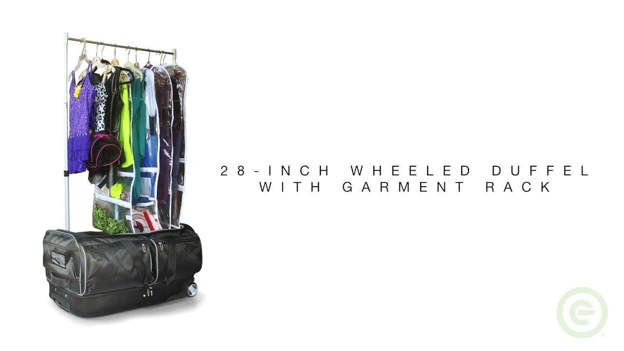 ecogear 28 inch wheeled duffel with