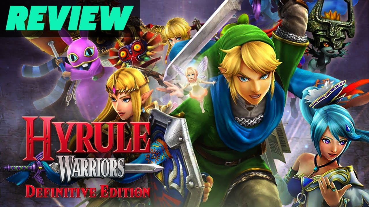 Hyrule Warriors Definitive Edition Review Youtube