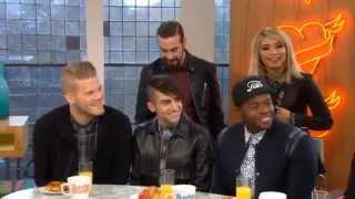 Pentatonix/PTX on Sunday Brunch Pt. 1 (bad quality)