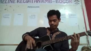 Menikmati lagu Tenda Biru Desi Ratnasari (Guitar Version)
