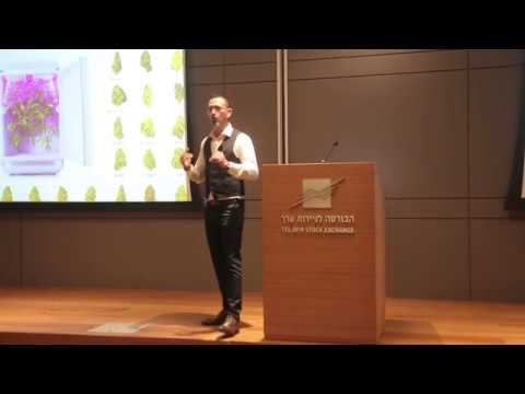 Seedo - Zohar Levy - Cannabis Conference At Tel-Aviv Stock Exchange - April 2019