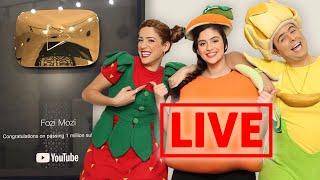 فوزي موزي وتوتي - الدرع الذهبي - YouTube gold play button