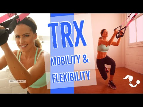 20 Minute TRX Mobility and Flexibility Suspension Training Workout