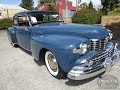 1948 Lincoln Continental V12 4of4 - Inspection