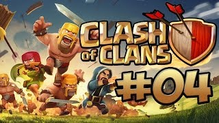 CLASH OF CLANS #4 - CLANBURG AM START ★ Let's Play Clash of Clans