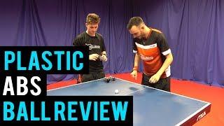 Plastic ABS Ball Review - STIGA Perform | Table Tennis
