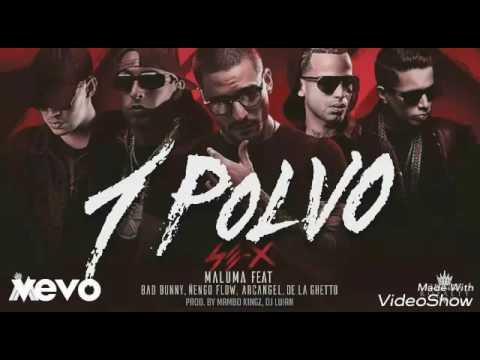 Maluma - Un Polvo ft. Bad Bunny, Arcangel, Ñengo Flow, De la guetto