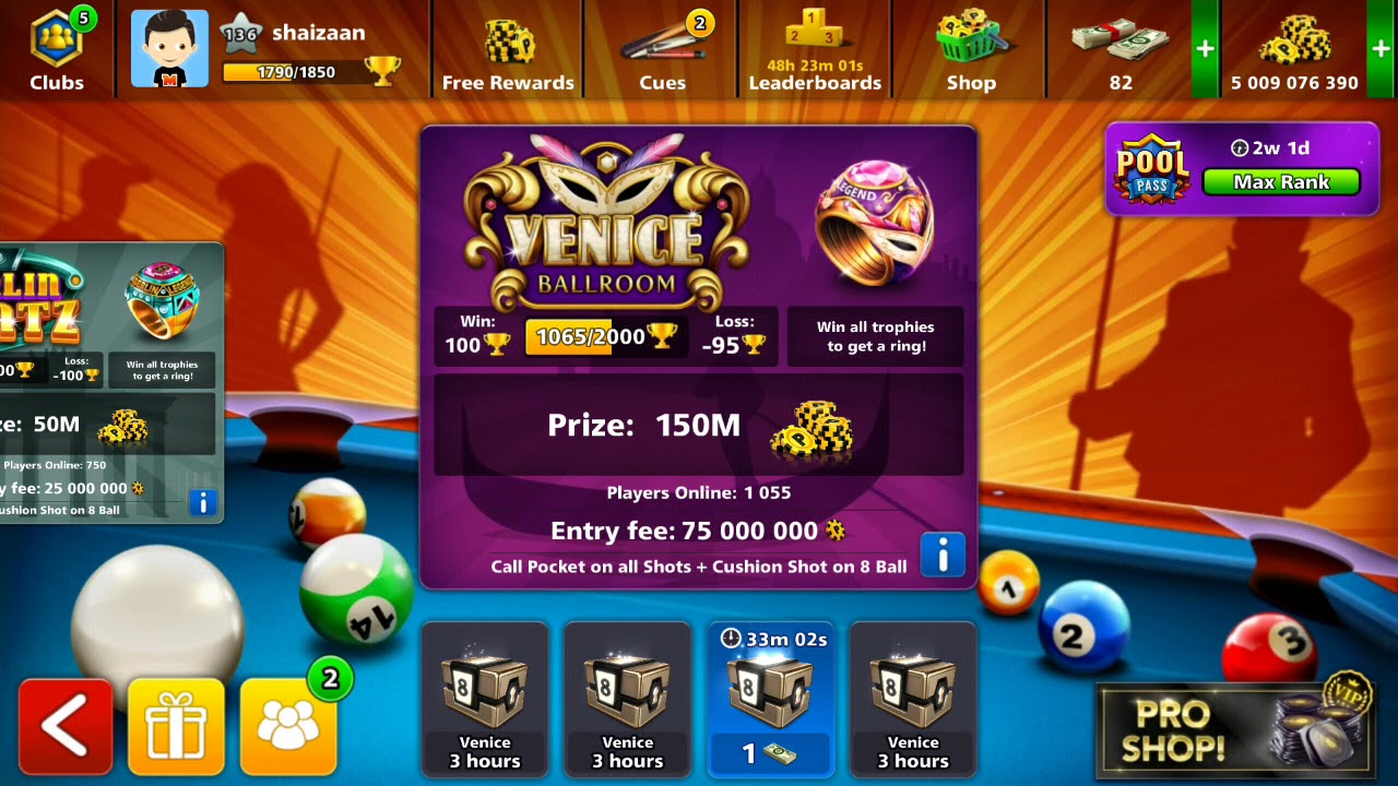8 ball pool coins transfer trick in mobile