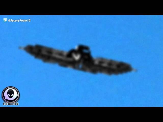 SECRET INVASION? Multi-Source Capture Of Alien Ship Over Atlanta! 9/14/2015