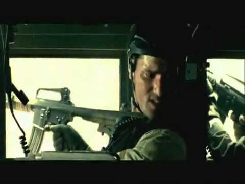 Black Hawk Down - KIA Sgt. Dominick Pilla - Convoy Scene