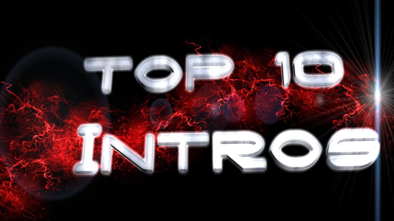 Top 10 Intros 3  free download links HD YouTube