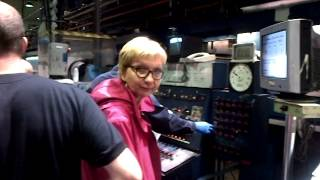 Reimagined Ottawa Citizen on printing press