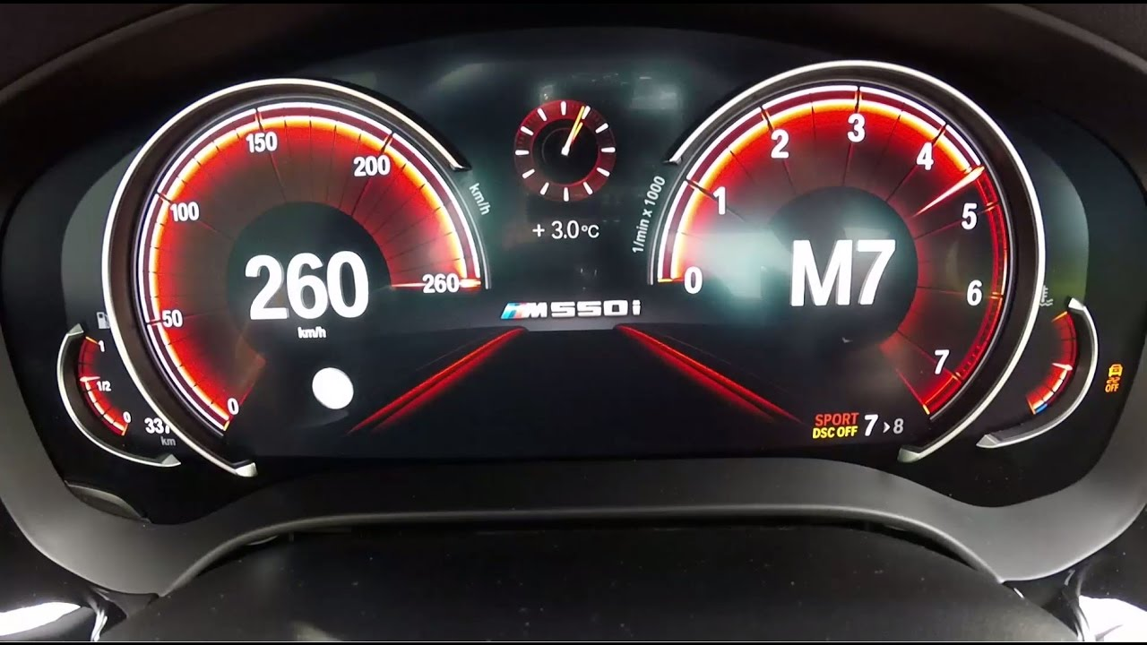 Garage Peugeot Dinan 260 New Bmw M550i Acceleration Launch Control