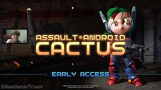 Playing Assault Android Cactus (PC) (KID GAMING)