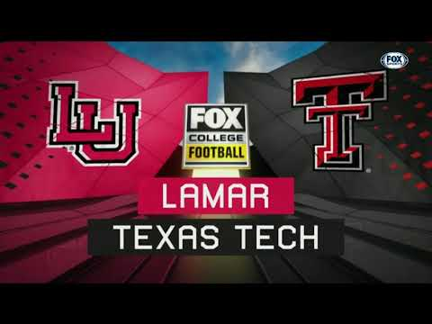 Texas Tech Football vs. Lamar: Highlights | 2018