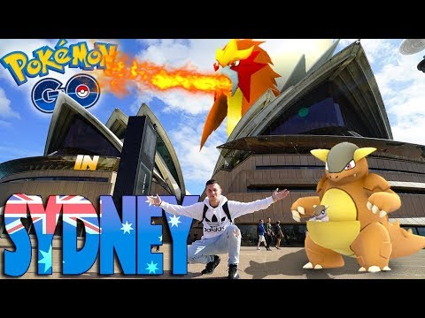 What is Pokémon Go like in Sydney, Australia? (Generation 2)