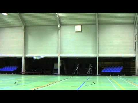 Rc Sukhoi Su-9 second indoor flight