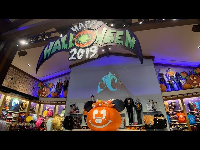 Halloween 2019 Merchandise Overview - Disneyland Resort [HD]