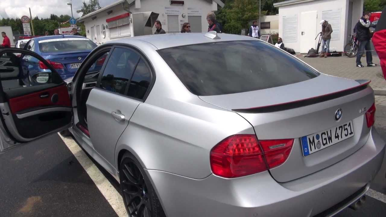 BMW M3 CRT exteriour and interiour  Nordschleife  YouTube