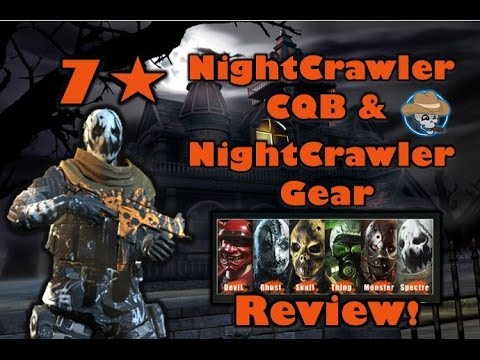 Afterpulse - 7 Star UNK CQB NightCrawler & NightCrawler gear overview