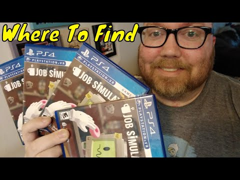 How / Where To Find JOB SIMULATOR For PSVR - Physical Copy