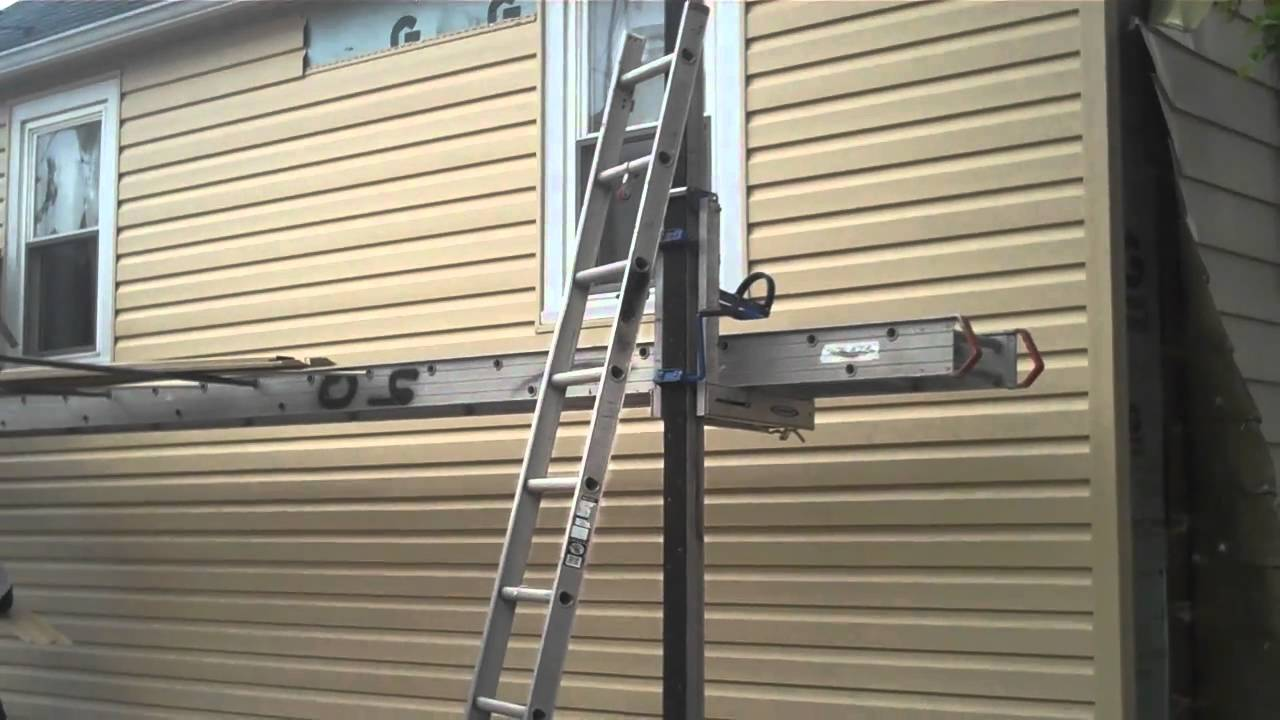 Hail Damage Project Aluminum Siding Replacement Mp4 Youtube