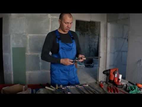 Способ подключения радиаторов к трубам REHAU