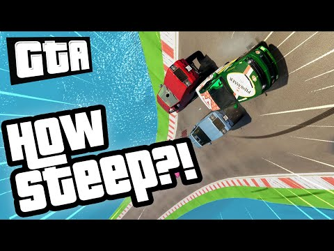 RACING ON A VERTICAL TRACK | GTA 5