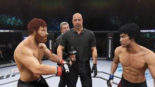 Chuck Norris vs. Bruce Lee (EA Sports UFC 2)