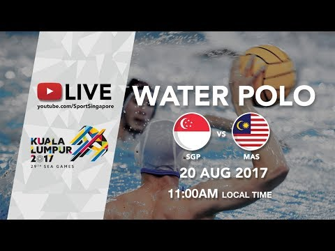 Water Polo: Singapore 🇸🇬 vs Malaysia 🇲🇾 | 29th SEA Games 2017