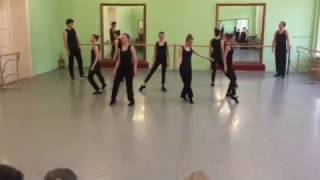 Современный джаз танец. Открытый урок. (часть 8)