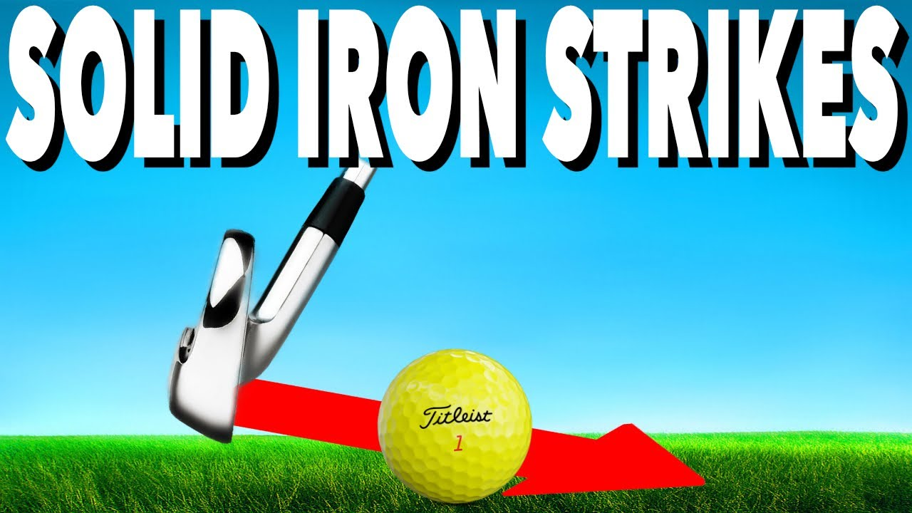 3 KEYS TO STRIKE YOUR IRONS PURE - SIMPLE GOLF TIPS